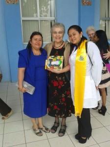 Lizi, Sister Diane, Dr. Cindy
