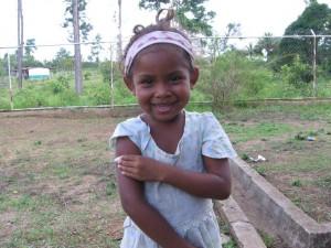child after shot