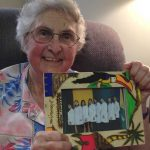Sister Ann with her treasured gift