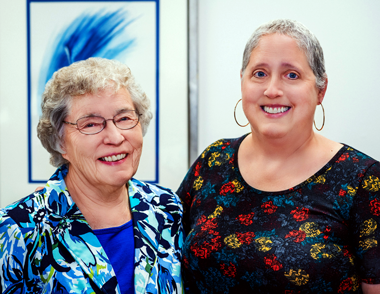 Sister Diane and Karen